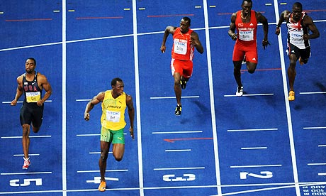 Usain Bolt vs Tyson Gay